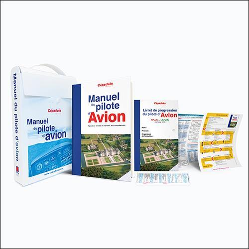 Mallette du manuel du pilote d'avion (18e édition)