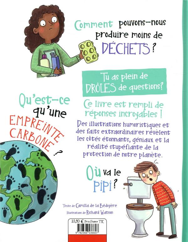 Drôles de questions & réponses... ; sauver la terre