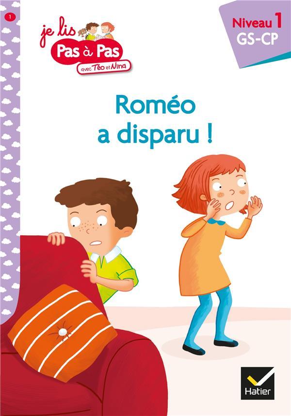 - PAS A PAS  -  ROMEO A DISPARU !
