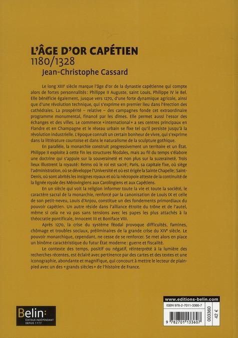 L'âge d'or capétien (1180-1328)
