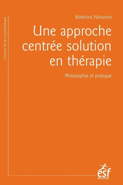 La thérapie centrée solution