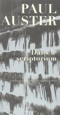 Dans le scriptorium