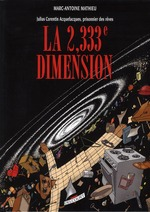 Couverture de Julius Corentin Acquefacques T05 - La 2,333E Dimension