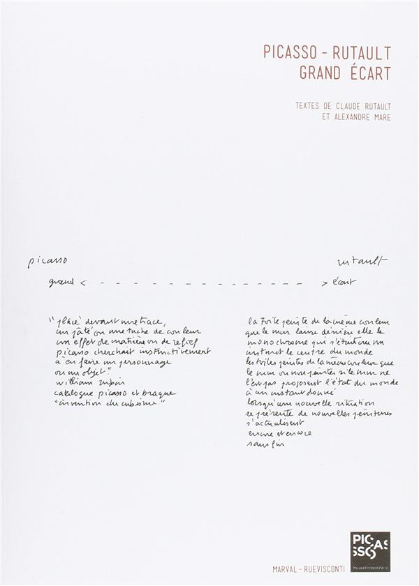 Picasso - Rutault, grand écart