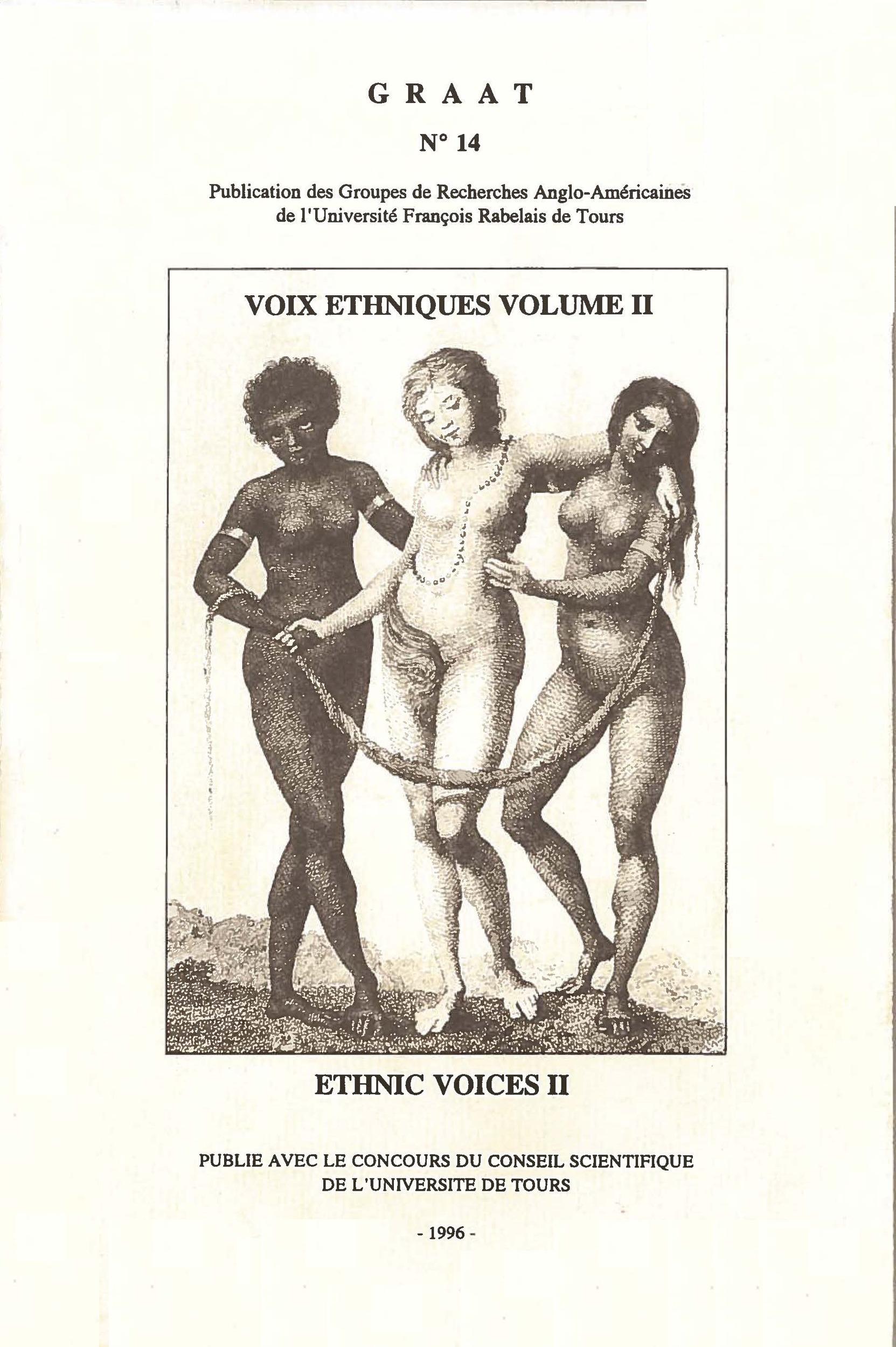Voix éthniques, ethnic voices. Volume 2