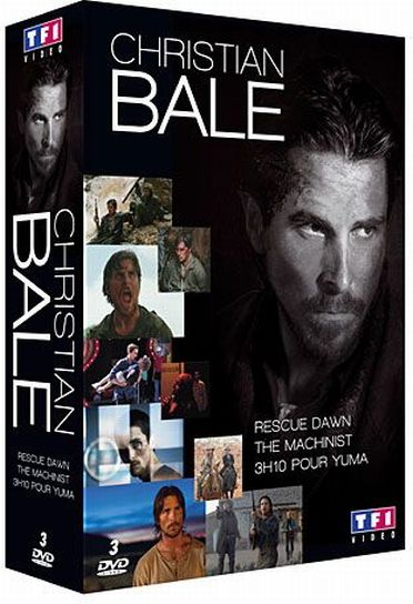 Christian Bale - Coffret - Rescue Dawn + The Machinist + 3h10 pour Yuma