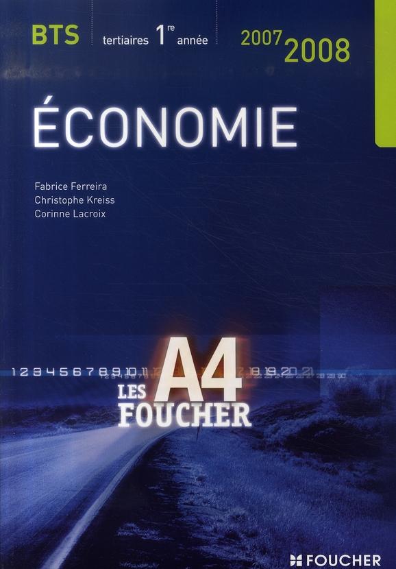 économie ; bts 1ère année (édition 2007-2008)