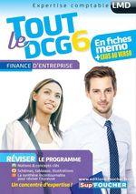 Vente Livre Numérique : Tout le DCG 6 ; finance d'entreprise  - Alain Burlaud - Arnaud Thauvron - Annaïck Guyvarc'h