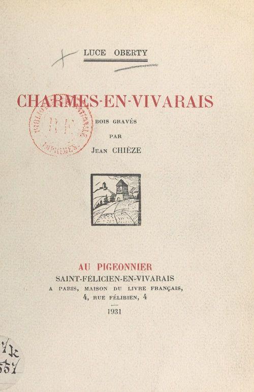 Charmes-en-Vivarais