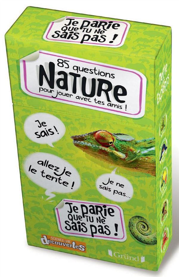 85 Questions ; Nature Pour Jouer Avec Tes Amis !