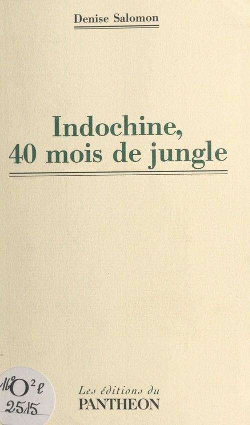 Indochine, 40 mois de jungle