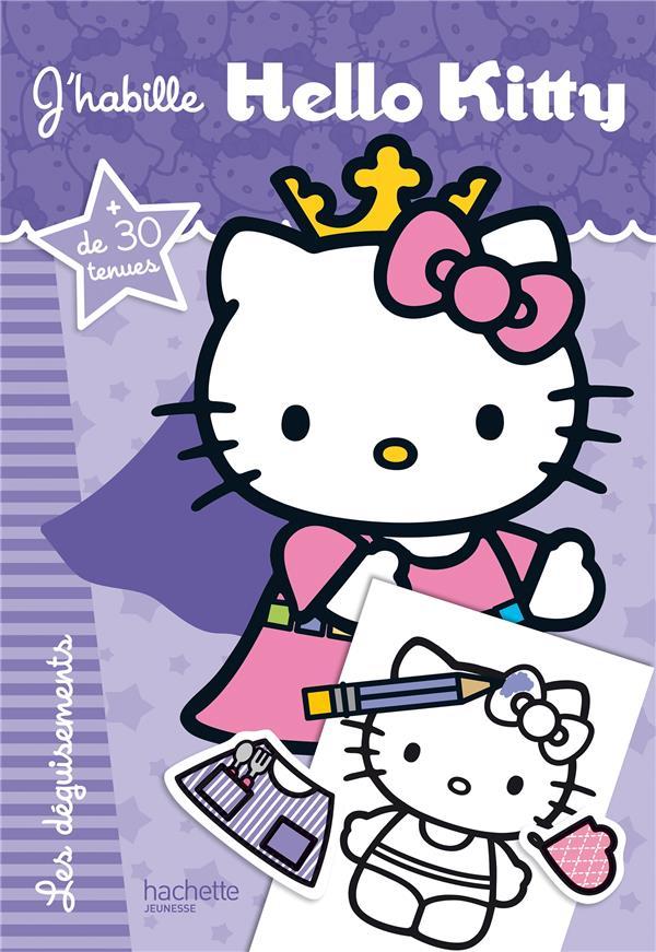 J'habille Hello Kitty ; les déguisements