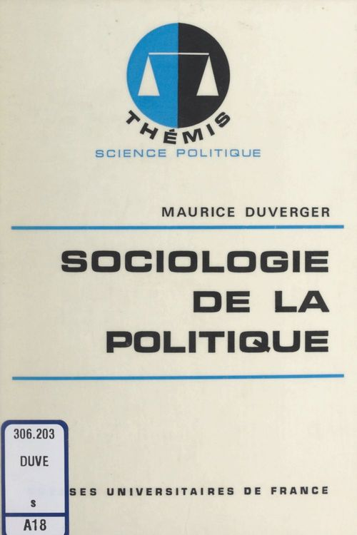 Sociologie de la politique