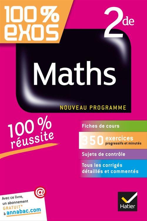 100% EXOS ; maths 2de