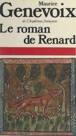 Vente Livre Numérique : Le roman de Renard  - Maurice Genevoix