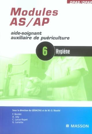 Modules As/Ap - 6 - Hygiene