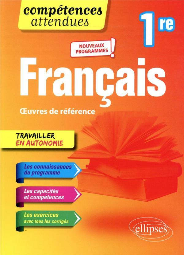 Compétences attendues ; français ; 1re ; nouveaux programmes