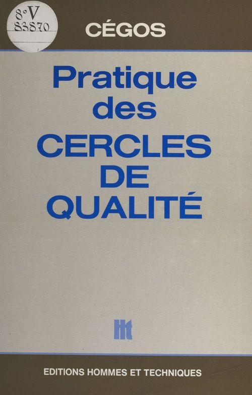 Pratique des cercles de qualité