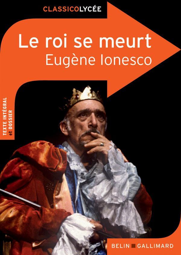 LE ROI SE MEURT, D'EUGENE IONESCO