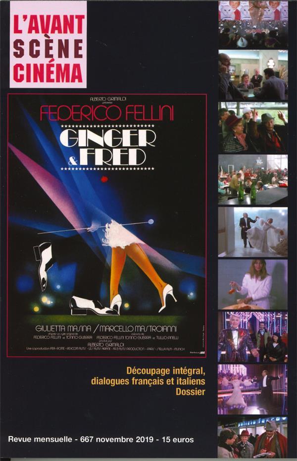 L'avant-scene cinema n.667 ; ginger & fred