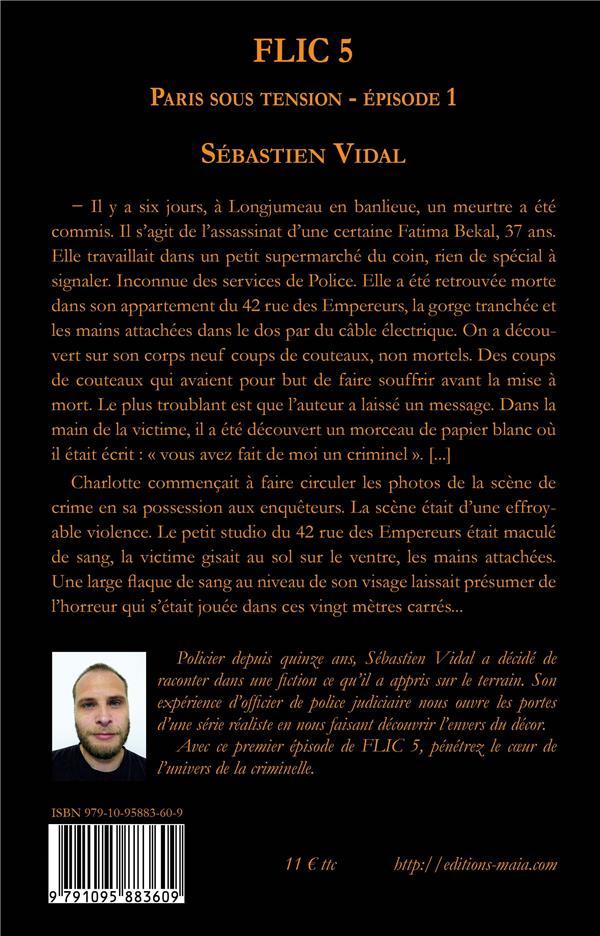 Flic t.5 ; Paris sous tension