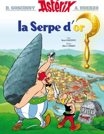 Astérix T.2 ; la serpe d'or