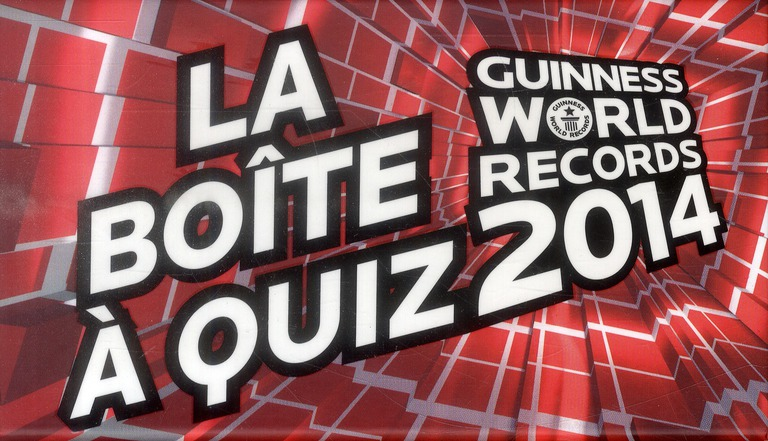Guinness World Records ; La Boite A Quiz (Edition 2014)