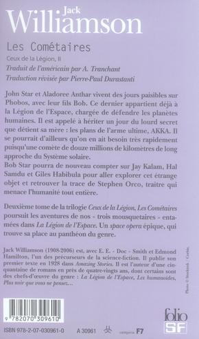 Ceux de la légion t.2 ; les cométaires