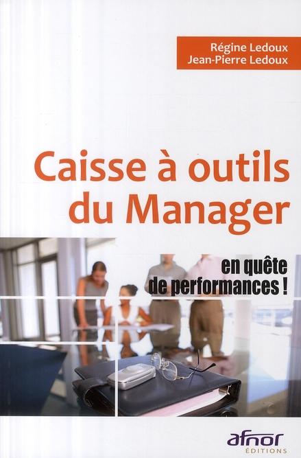 Caisse à outils du manager en quête de performances !
