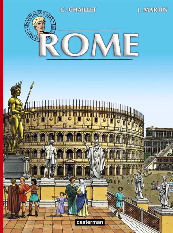 Les voyages d'Alix ; Rome