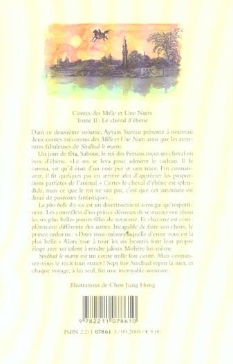 Contes des 1001 nuits t2 cheval d ebene