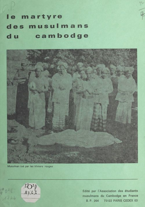 Le martyre des musulmans du Cambodge  - Jean-Émile Vidal