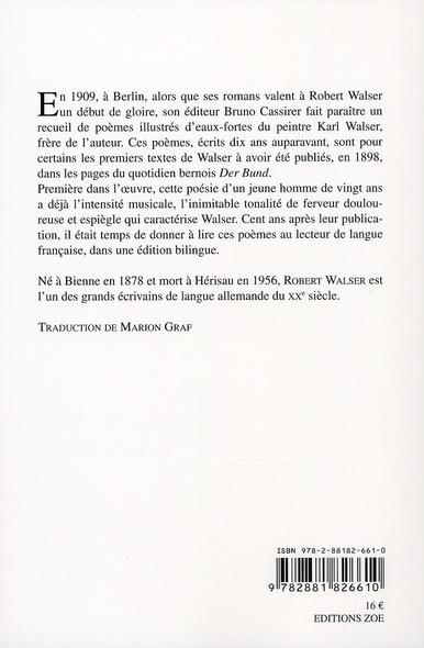 Au bureau ; poèmes de 1909