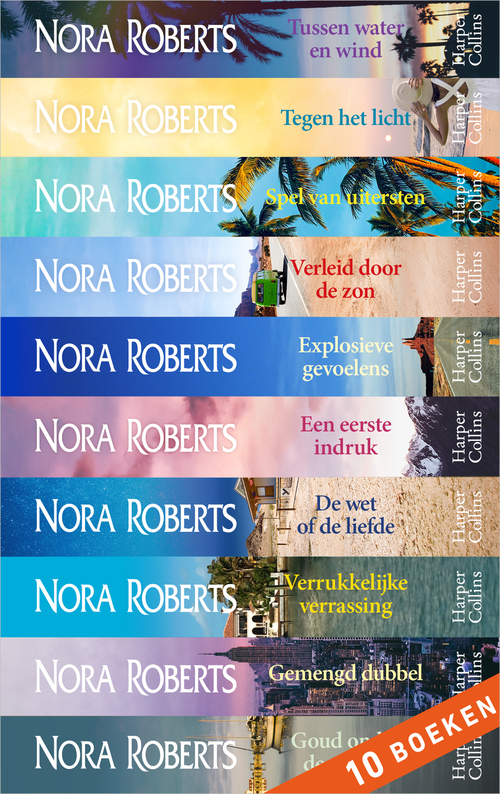 Nora Roberts 10-in-1 bundel 3 - Nora Roberts - ebook
