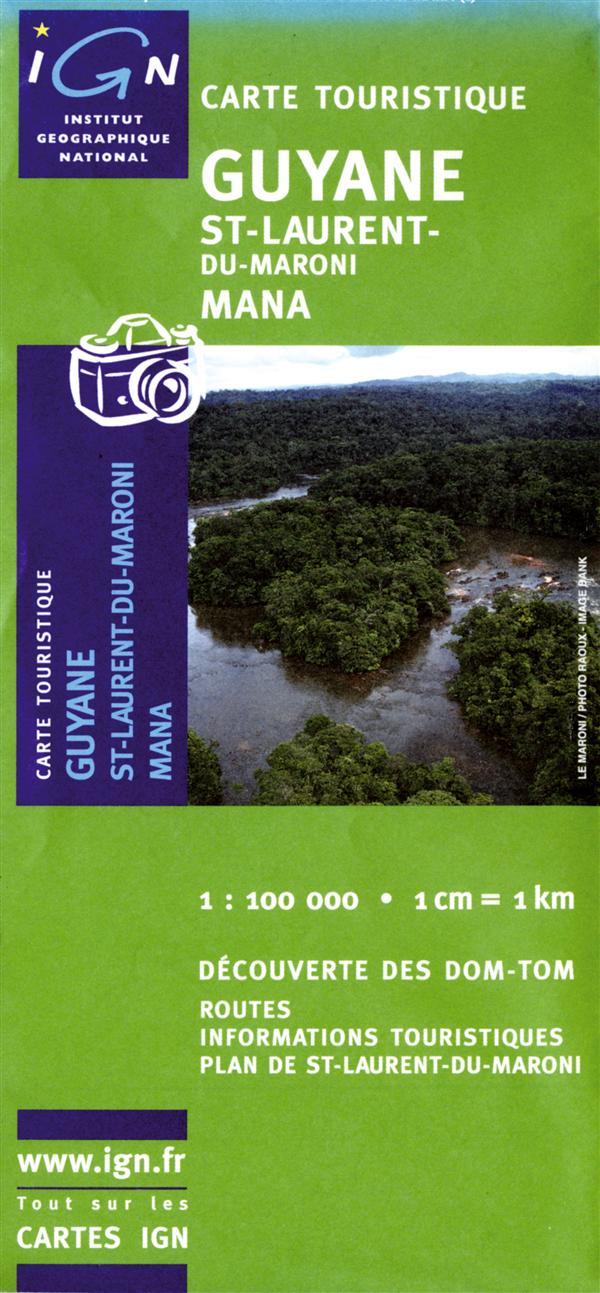 St-Laurent-du-Maroni ; Mana ; Guyane ; 84016