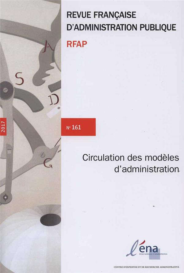 Circulation des modèles d'administration publique RFAP