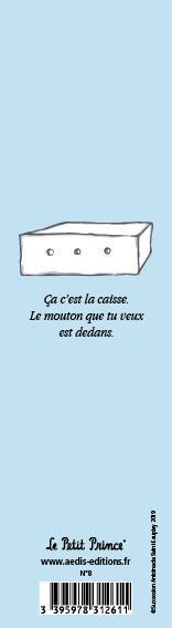 Marque-page Le Petit Prince T.8
