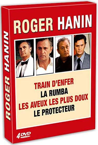 Roger Hanin - 4 films - La rumba + Train d'enfer + Le protecteur + Les aveux les plus doux