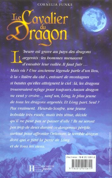cavalier du dragon t.1