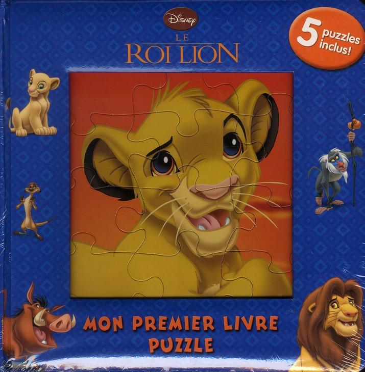 Mon Premier Livre Puzzle; Le Roi Lion