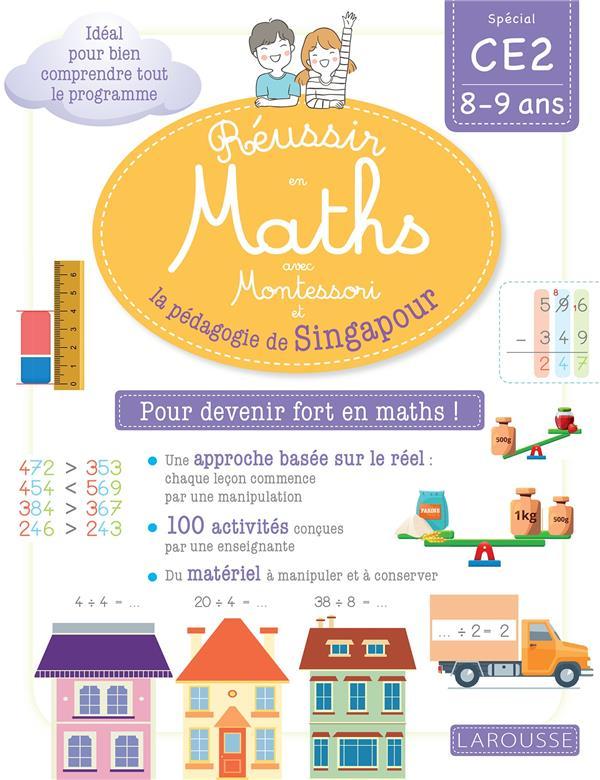 Réussir en maths avec Singapour ; CE2