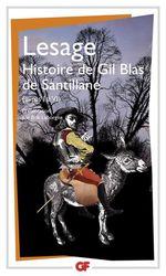 Histoire de Gil Blas de Santillane  - Alain-Rene Lesage - Lesage