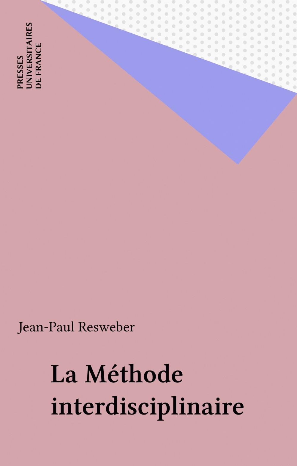 la methode interdisciplinaire