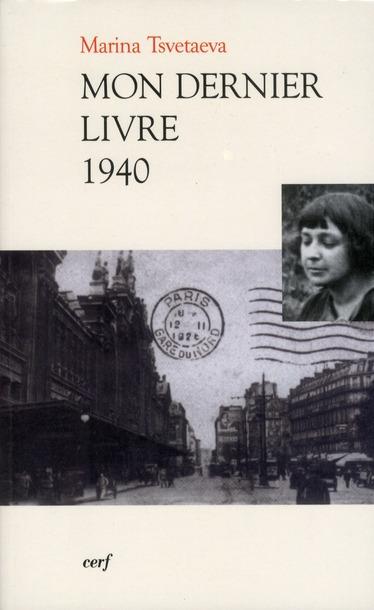 MON DERNIER LIVRE 1940