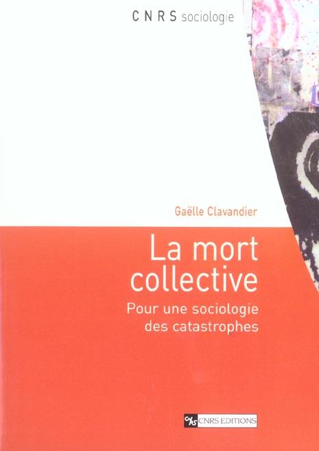 Mort collective. pour une sociologie ...