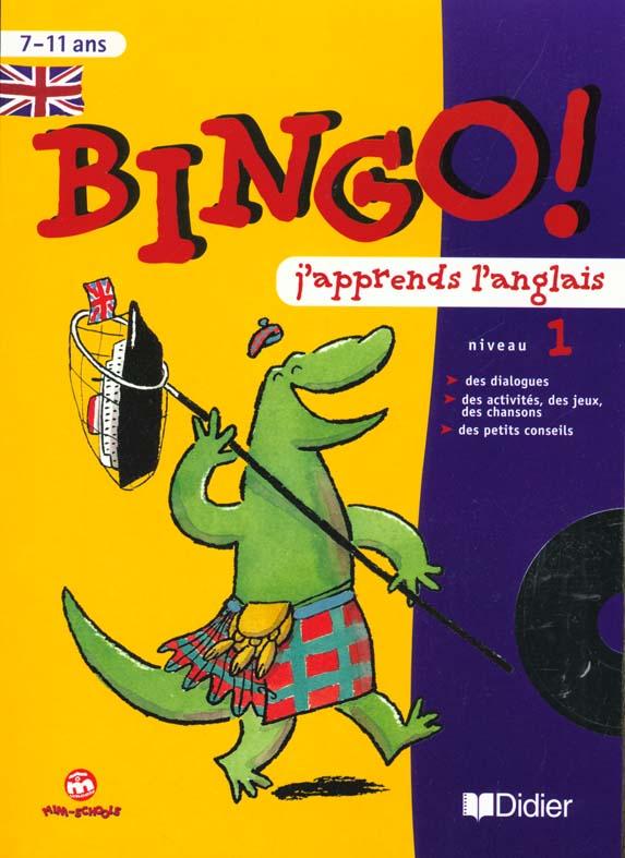Bingo ! 1- Cahier D'Exercices + Cd Audio