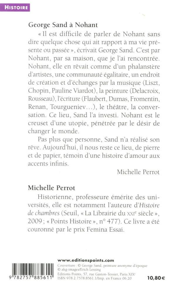 George Sand à Nohant ; une maison d'artiste