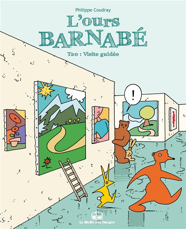 L'ours Barnabé T.20 ; visite guidée