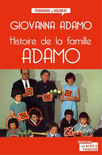 Adamo ; l'histoire d'une famille