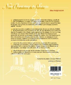 nos oratoires de savoie t.1 ; beaufortain, tarentaise, val d'arly